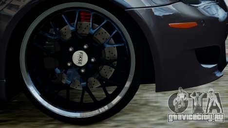 BMW M5 E60 v1 для GTA 4 вид справа