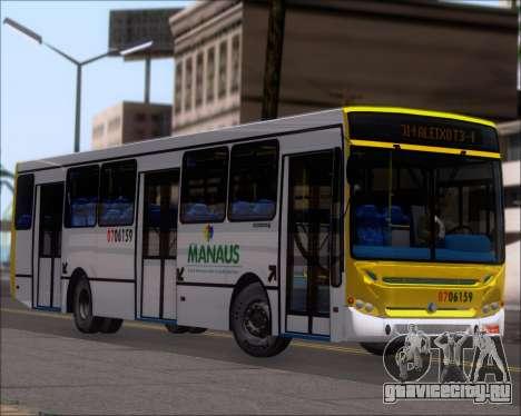 Caio Induscar Apache S21 Volksbus 17-210 Manaus для GTA San Andreas колёса