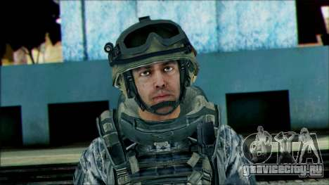 Рейнджер (CoD: MW2) v2 для GTA San Andreas третий скриншот