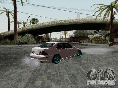 Toyota Altezza Addinol для GTA San Andreas вид слева