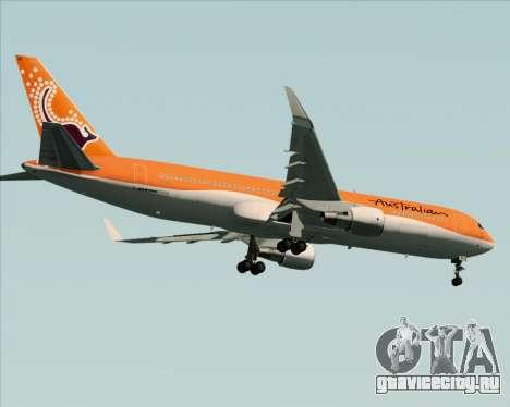 Boeing 767-300ER Australian Airlines для GTA San Andreas вид справа