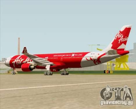 Airbus A330-300 Air Asia X для GTA San Andreas вид справа
