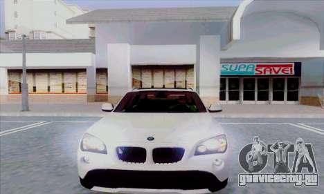 Bmw X1 для GTA San Andreas вид слева