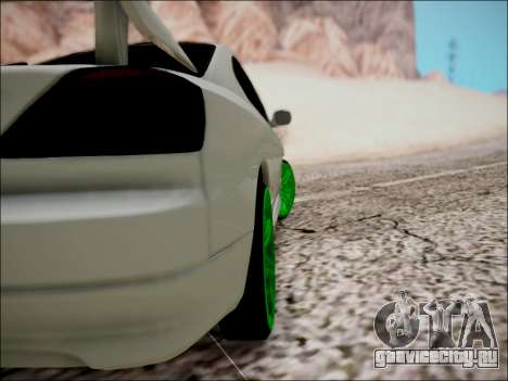 Nissan Silvia S15 для GTA San Andreas вид снизу