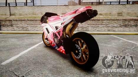Ducati 1198 R для GTA 4 вид сзади слева