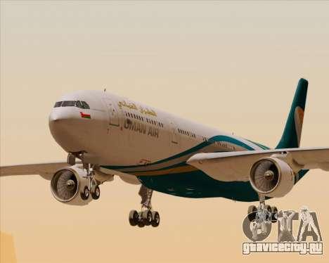 Airbus A330-300 Oman Air для GTA San Andreas