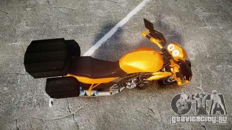 Yamaha V-ixion 150cc для GTA 4 вид справа