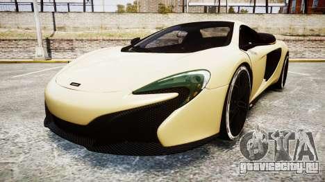 McLaren 650S Spider 2014 [EPM] Yokohama ADVAN v3 для GTA 4