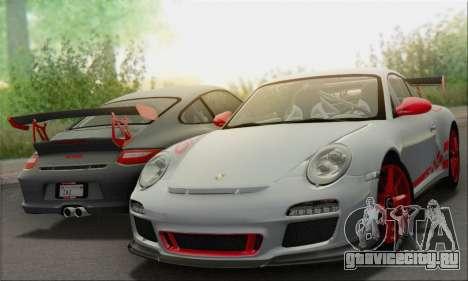 Porsche 911 GT3 2010 для GTA San Andreas двигатель