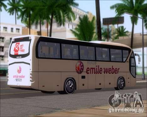 Neoplan Tourliner Emile Weber для GTA San Andreas вид сзади слева