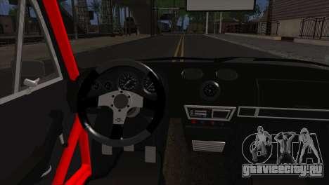 ВАЗ 2106 Спорт для GTA San Andreas вид сзади слева