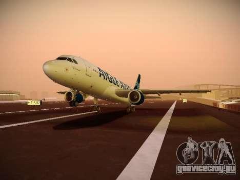 Airbus A320-211 Aigle Azur для GTA San Andreas