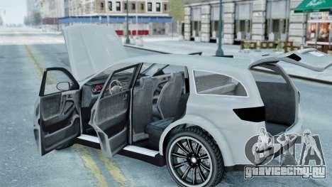 GTA 5 Bravado Gresley для GTA 4 вид справа