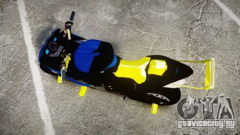 Yamaha R1 2007 Stunt для GTA 4 вид справа