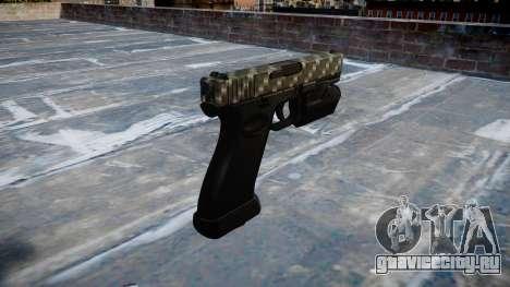 Пистолет Glock 20 carbon fiber для GTA 4 второй скриншот