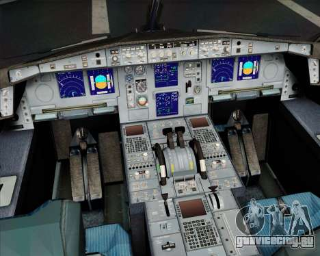 Airbus A330-300 Scandinavian Airlines System. для GTA San Andreas колёса