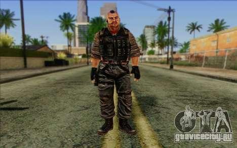 Солдат from Rogue Warrior 2 для GTA San Andreas