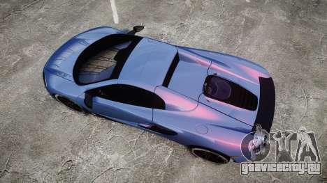 McLaren 650S Spider 2014 [EPM] Michelin v5 для GTA 4 вид справа