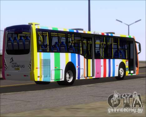 Caio Millennium II Volksbus 17-240 для GTA San Andreas вид сзади слева