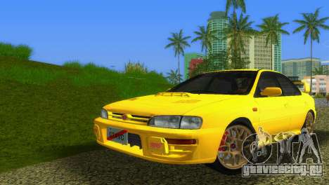 Subaru Impreza WRX STI GC8 Sedan Type 1 для GTA Vice City