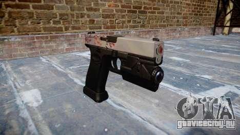 Пистолет Glock 20 cherry blososm для GTA 4