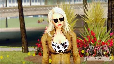 Eva Girl v1 для GTA San Andreas третий скриншот