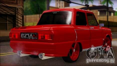 ЗАЗ 968М для GTA San Andreas вид слева
