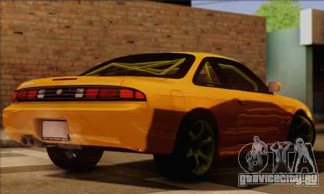 Nissan 200sx Drift Monster Energy для GTA San Andreas вид слева