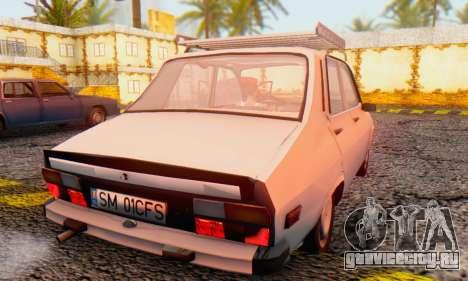 Dacia 1310 TX Stock v1 для GTA San Andreas вид сзади слева