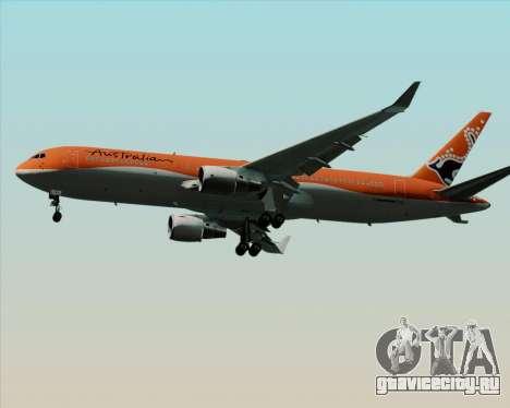Boeing 767-300ER Australian Airlines для GTA San Andreas вид сбоку