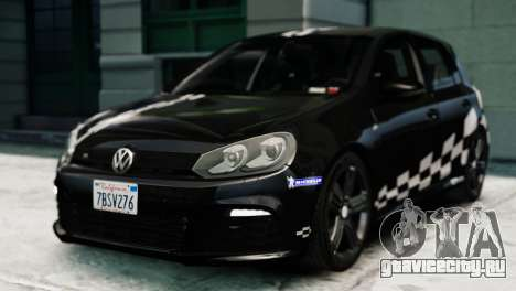 Volkswagen Golf R 2010 MTM Paintjob для GTA 4