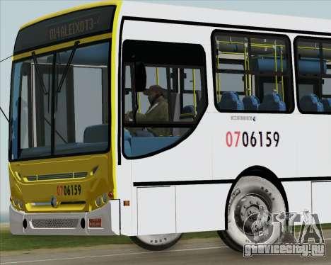 Caio Induscar Apache S21 Volksbus 17-210 Manaus для GTA San Andreas салон