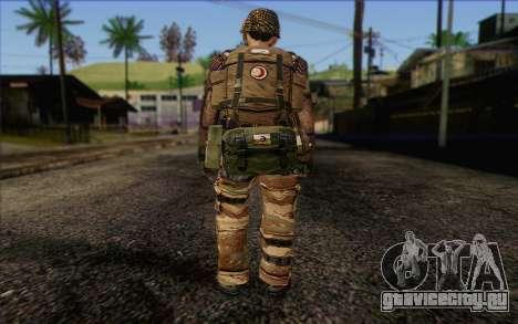 Солдат МЕК (Battlefield 2) Skin 4 для GTA San Andreas второй скриншот