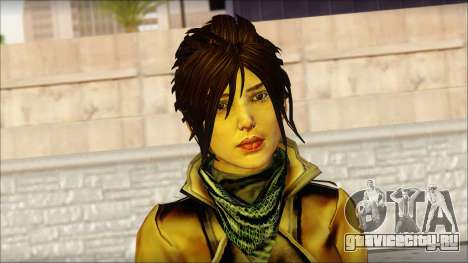 Tomb Raider Skin 2 2013 для GTA San Andreas третий скриншот