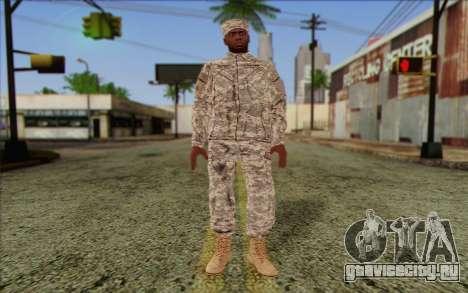California National Guard Skin 5 для GTA San Andreas