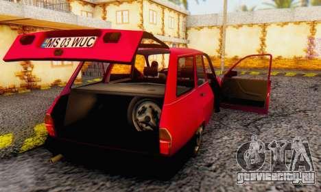 Dacia 1310 Break WUC для GTA San Andreas вид справа