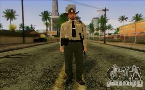 Полицейский (GTA 5) Skin 1 для GTA San Andreas