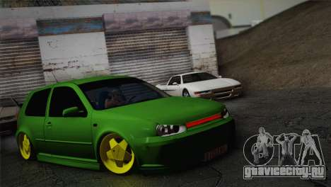 Volkswagen Golf 4 R32 Low v2 для GTA San Andreas