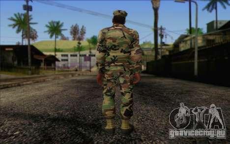 California National Guard Skin 3 для GTA San Andreas второй скриншот