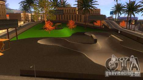 HD Текстуры скейт-парка и госпиталя V2 для GTA San Andreas десятый скриншот