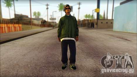 Eazy-E Green Skin v1 для GTA San Andreas
