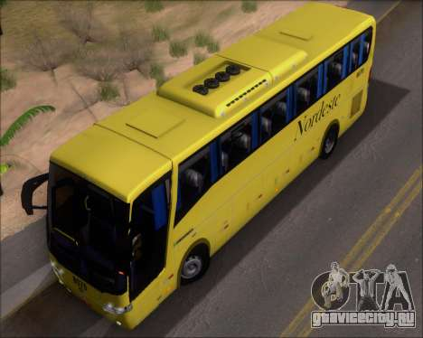 Busscar Elegance 360 Viacao Nordeste 8070 для GTA San Andreas вид сбоку