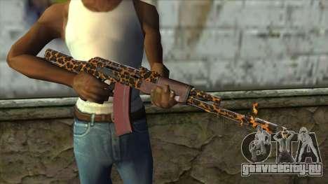 Graffiti AK47 для GTA San Andreas третий скриншот