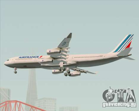 Airbus A340-313 Air France (New Livery) для GTA San Andreas