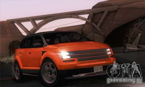 Vapid Radius 1.0 (IVF) для GTA San Andreas