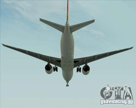 Boeing 777-200ER Air China для GTA San Andreas вид справа