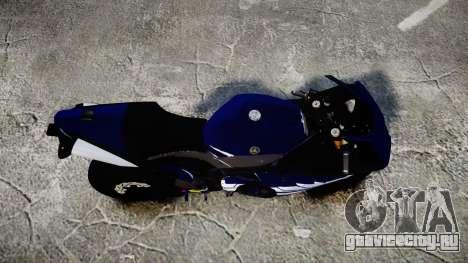 Yamaha YZF-R1 2009 для GTA 4 вид справа