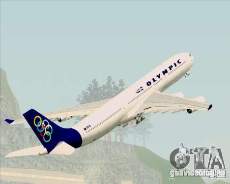 Airbus A340-313 Olympic Airlines для GTA San Andreas