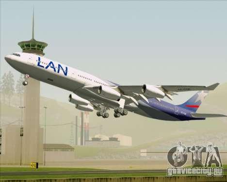 Airbus A340-313 LAN Airlines для GTA San Andreas салон