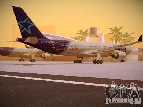 Airbus A330-200 Air Transat для GTA San Andreas вид справа